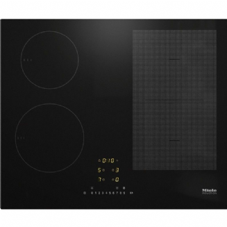 MIELE KM7464 FL Induction hob with onset controls with PowerFlex cooking area